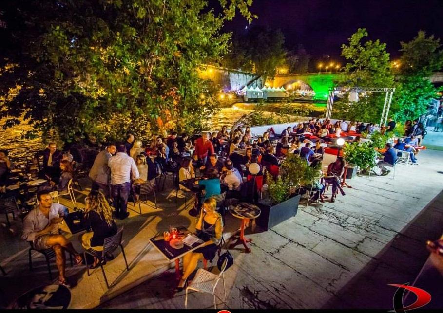 L\'isola dei desideri soddisfatti – terrazza martini roma